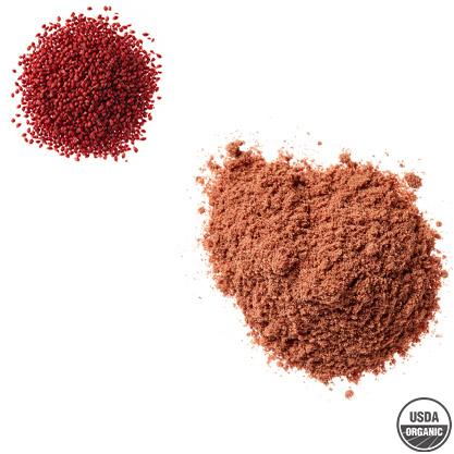 Organic cranberry seed powder